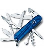 Cutit de buzunar elvetian Victorinox – Huntsman, 15 functii, albastru -1