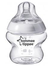 Biberon Tommee Tippee Easi Vent - 150 ml, cu tetina 1 picatura, flux lent -1