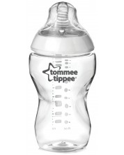 Biberon Tommee Tippee Easi Vent - 340 ml, cu tetina 2 picaturi -1