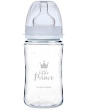 Biberon anticolici Canpol Easy Start - Royal Baby, albastru, 240 ml -1