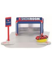 Set de joaca Siku World - Showroom cu masini Porsche Carrera GT -1