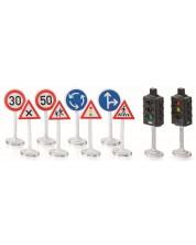 Set de joaca Siku World - Indicatoare rutiere si semafoare