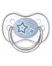 Suzeta din silicon Canpol Newborn Baby, simetrica - 6-18 luni, stea -1