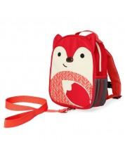 Mini Rucsac pentru copii Skip Hop Zoo - Vulpea Furguson -1