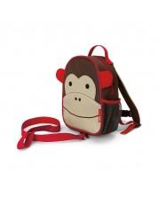 Rucsac mini pentru copii Skip Hop Zoo - Maimuta Marshall -1