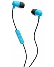 Casti cu microfon Skullcandy - Jib, albastre/negre