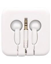 Casti TNB - Pocket, cutie din silicon, albe