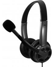 Casti cu microfon Maxell - HS-HMIC, negru/gri