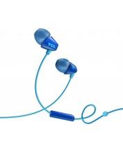 Casti cu microfon TCL - SOCL100, albastre