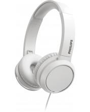 Casti cu microfon Philips  - TAH4105WT, albe