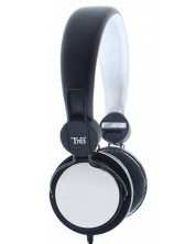 Casti cu microfon TNB - Be color, On-ear, albe