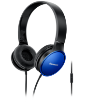 Casti cu microfon Panasonic RP-HF300ME-A - albastre