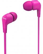 Casti cu microfon Philips - TAE1105PK, roz