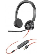 Plantronics Blackwire 3325, USB-A & 3.5mm jack