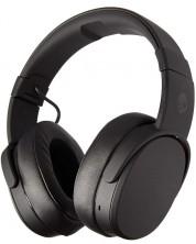 Casti cu microfon Skullcandy - Crusher Wireless, black/coral -1