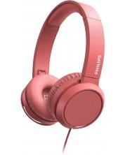 Casti cu microfon Philips  - TAH4105RD, roso