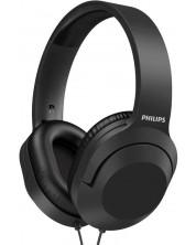 Casti cu microfon Philips - TAH2005BK, negre