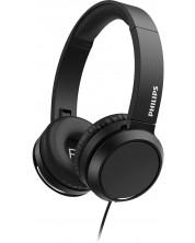 Casti cu microfon Philips - TAH4105BK, negre