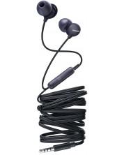 Casti cu microfon Philips - SHE2405BK, negre