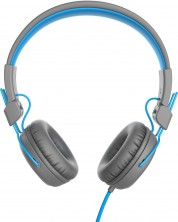 Casti cu microfon Jlab - Studio, gri/albastre