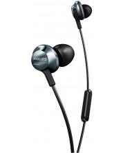 Casti microfon Philips - PRO6305BK, negre