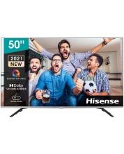 "Televizor smart Hisense - 50E76GQ, 50"", 4K, QLED, negru -1"