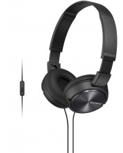 Casti cu microfon Sony MDR-ZX310AP - negre -1