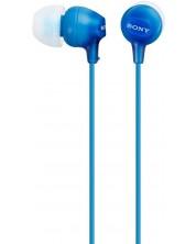 Casti Sony MDR-EX15LP - albastre