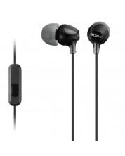 Casti Sony MDR-EX15AP - negre