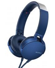 Casti Sony MDR-550AP - albastre