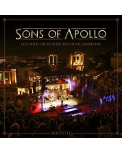 Sons of Apollo - Live With the Plovdiv Psychotic Symphony (Deluxe 3 CD + DVD + Blu-ray Artbook)