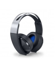 Casti gaming Sony - Platinum Wireless Headset, 7.1, negre
