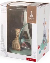 Spirala cu margele Janod - Girafa Sophie si turnul Eiffel