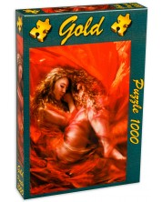 Puzzle Gold Puzzle de 1000 piese - Frumoasa adormita