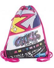 Sac sport Mitama - Roller Girl, cu un breloc cadou