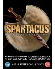 Spartacus: Complete Collection (DVD)