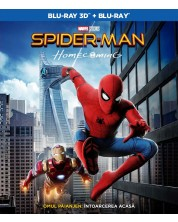 Spider-Man: Homecoming (Blu-ray 3D и 2D)