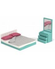 Set mobilier pentru papusi Lori Dolls - Dormitor -1