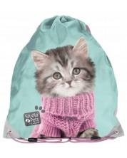 Sac sport Paso Studio Pets - Pisica cu pulover