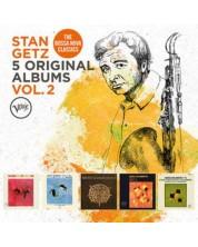Stan Getz - 5 Original Albums, Vol. 2 (5 CD)