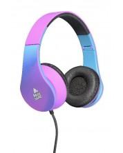 Casti Cellularline - Music Sound Violet, roz/albastre