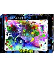 Puzzle Heye de 1000 piese - Miau, Lora Zombi