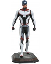 Statueta Diamond Select Marvel: Avengers - Captain America (Team Suit), 23 cm