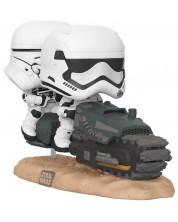 Figurina Funko Pop! Movie Moment: Star Wars Ep 9 - First Order Tread Speeder, #320