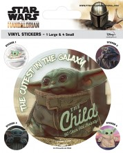 Stickere Pyramid Star Wars The Mandalorian - The Child