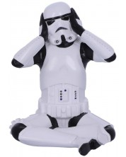 Statueta Nemesis Now Star Wars: Original Stormtrooper - Hear No Evil, 10 cm