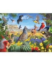 Puzzle SunsOut de 1000 piese - R. Christopher Vest, Texas Birds