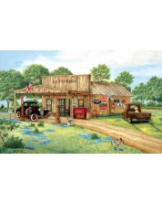 Puzzle SunsOut de 550 piese - Kay Lamb Shannon, Ed's Garage