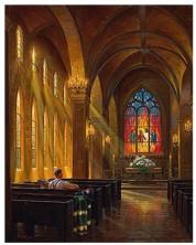 Puzzle SunsOut de 1000 piese - Mark Keathley,  Sanctuary of Peace