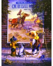 Puzzle SunsOut de 1000 piese - Don Crook, Sidewalk Cowboy